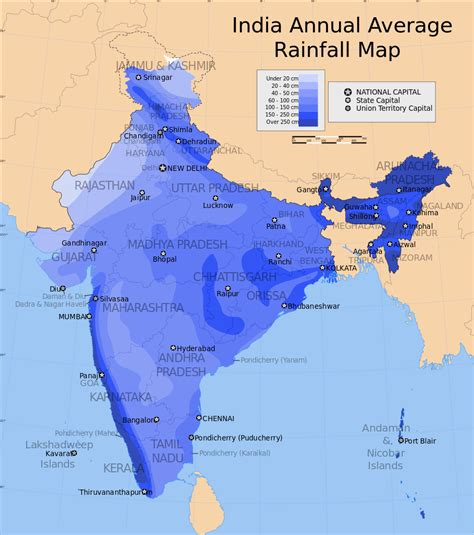 what are the main sections of an annual report file india annual rainfall map en svg wikimedia commons