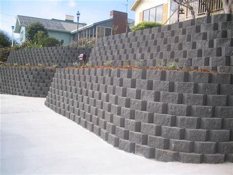 retaining wall block ideas john robinson decor