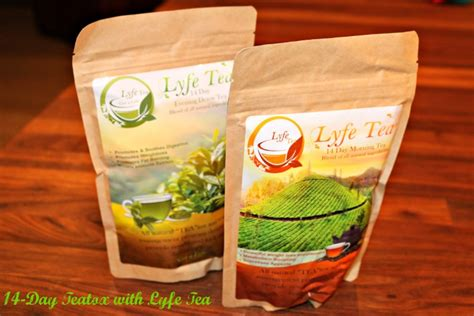 Teatox Lyfe Detox Tea by Lyfe Tea Teatox Jenn Bare