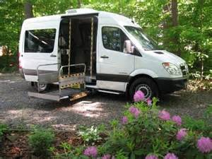 Mercedes Cer Vans For Sale 2008 Mercedes Sprinter Wheelchair With Braun Uvl Power