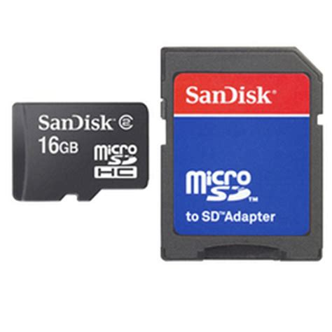 Micro Sd Card 16 Gb Sandisk sandisk microsd card 16gb adapter superstationpc