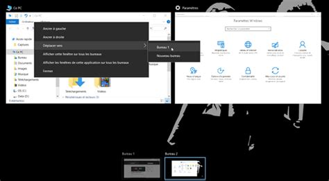 windows bureau virtuel utiliser les bureaux virtuels de windows 10