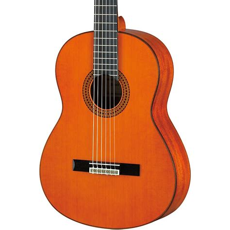 yamaha gc12 handcrafted classical guitar musician s friend