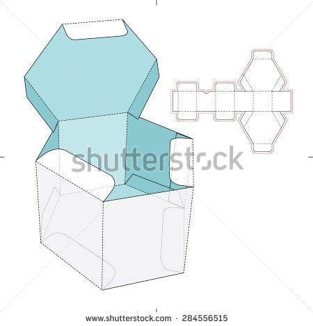 hexgonal card template 25 best ideas about hexagon box on paper