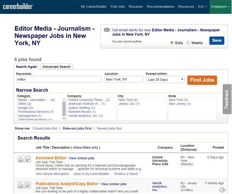 the best search websites apps careerbuilder slideshow from pcmag