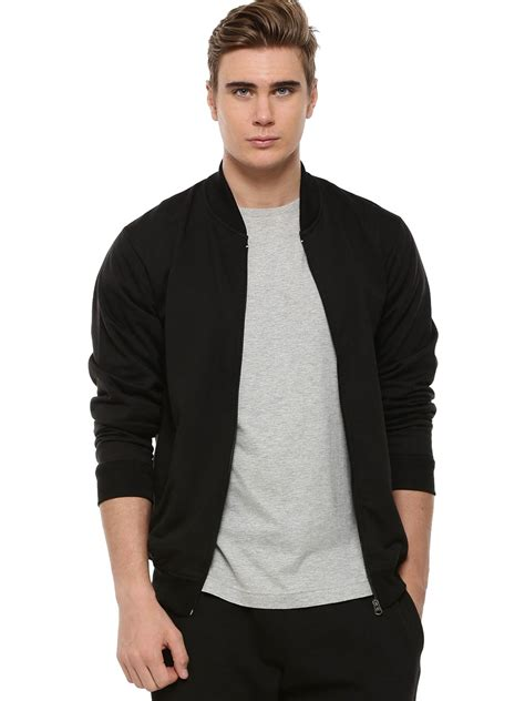 Rompi Vest Jipper Polos Exlusive buy blotch baseball collar zipper bomber jacket for s black jackets in india