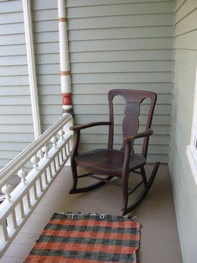 musings on the front porch rocking chair
