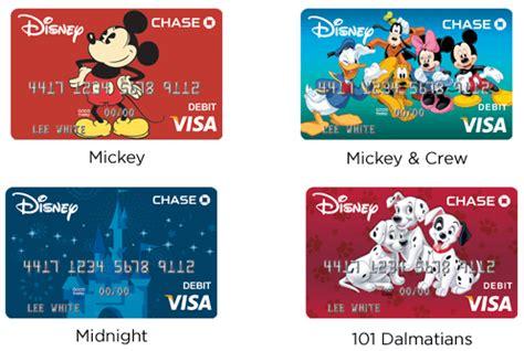 Disney Visa Card Designs 2018