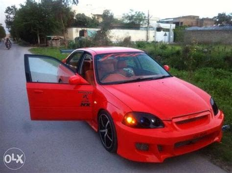 1998 honda civic modified honda civic 1998 modified red www pixshark com images
