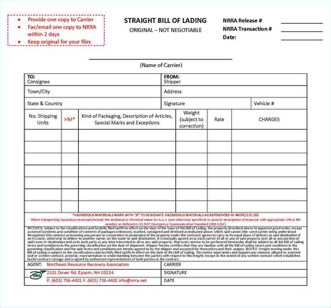 free bill of lading form 37062626 png pay stub template