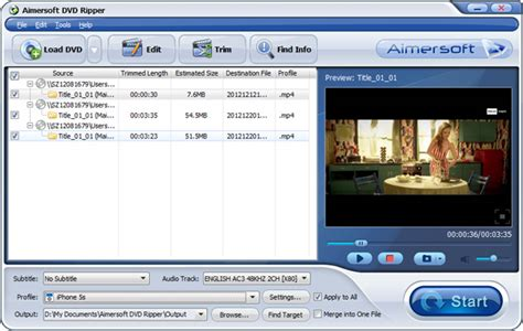 dvd format movies download dvd to itunes converter rip dvd to itunes mp4 m4v mov