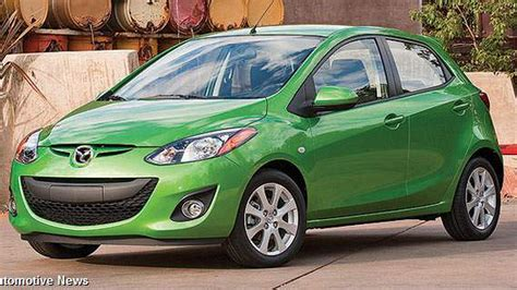mazda small car mazda banks on small car surge roadshow