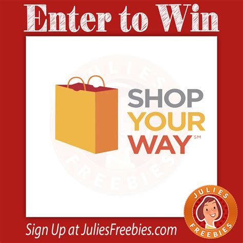 Syw Sweepstakes - shop your way 500 gas card instant win game julie s freebies