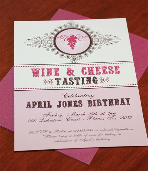 wine and cheese invitation template wine cheese tasting invitation template