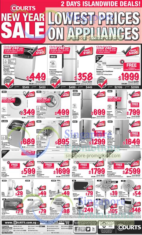 courts new year sale highlighted deals 3 187 courts new year sale 5 6 jan 2013