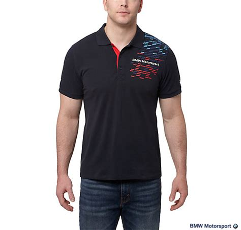 Polo Shirt Bmw Black Sport Limited bmw motorsport graphic polo shirt by choice gear