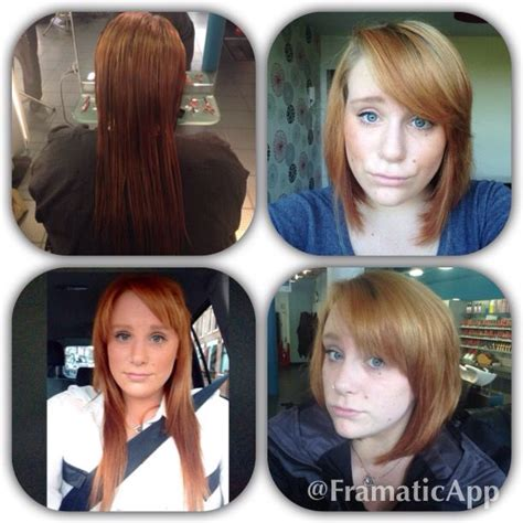 long hair makeovers before and after before and after long to short long hair to short hair