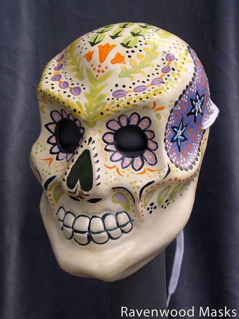 flower skull mask by alyssa ravenwood on deviantart