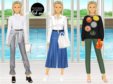 Fendi By The Way Autumn 2017 With Karlito Charms 7081 the stardoll lookbook i n s p i r e d b y f e n d i