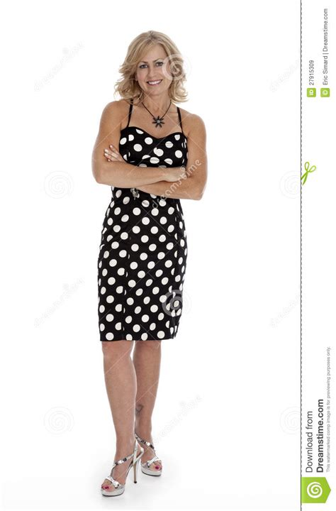 ladies in their mid fourties mid forties woman standing on white royalty free stock