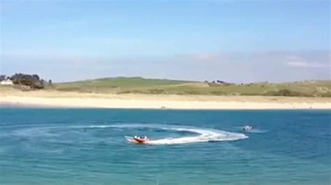 cornwall speedboat accident police pay tribute to - Boat Crash Video Aftermath