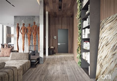 modern wood paneling two homes with lots of beautiful wood