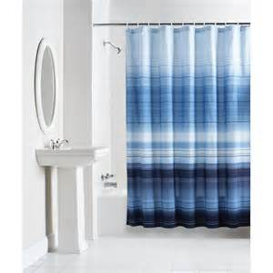mainstays fretwork shower curtain navy white walmart