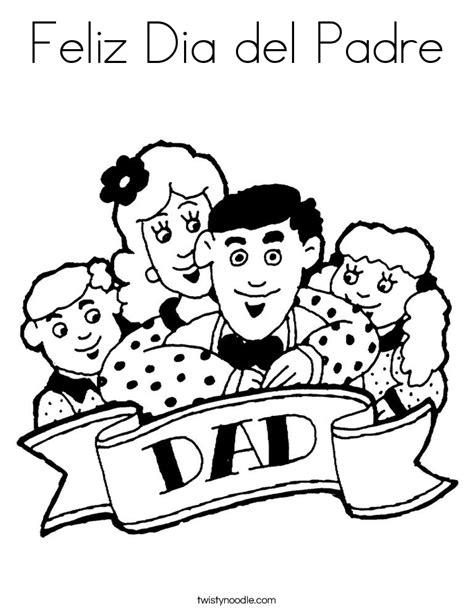 dia de los padres coloring pages feliz dia del padre coloring page twisty noodle