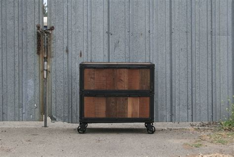 reclaimed wood file cabinet combine 9 industrial furniture reclaimed wood file cabinet