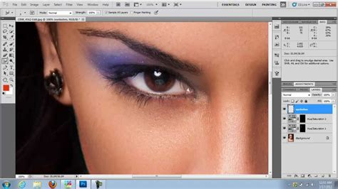 How To Change Hairstyle In Photoshop Cc by Photoshop Makeup How To Add Makeup In Photoshop