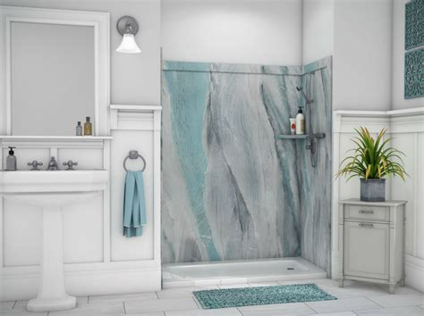 decorative panels for bathroom walls 8 part checklist for a diy shower kit nationwide supply