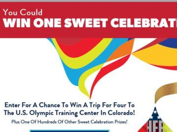 One Entry Sweepstakes 2016 - 2016 hershey s one sweet celebration sweepstakes