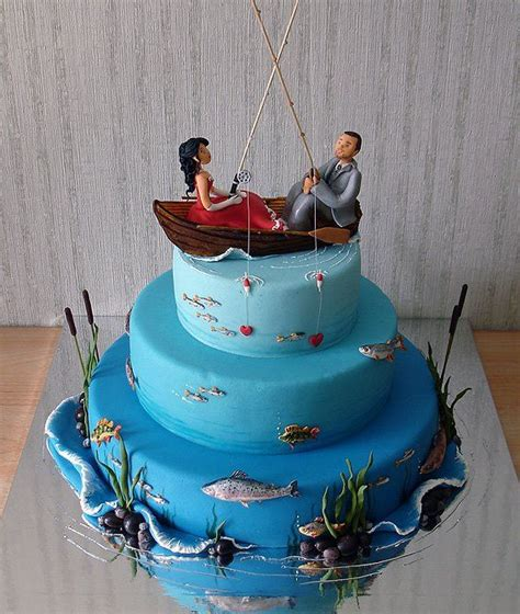 how to make a fishing boat cake topper best 25 fishing wedding cakes ideas on pinterest