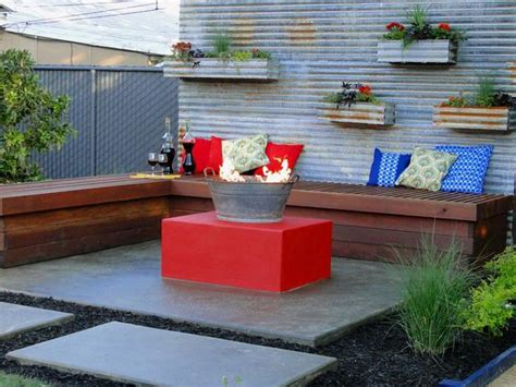 diy outdoor pit seating cheap pit ideas hgtv