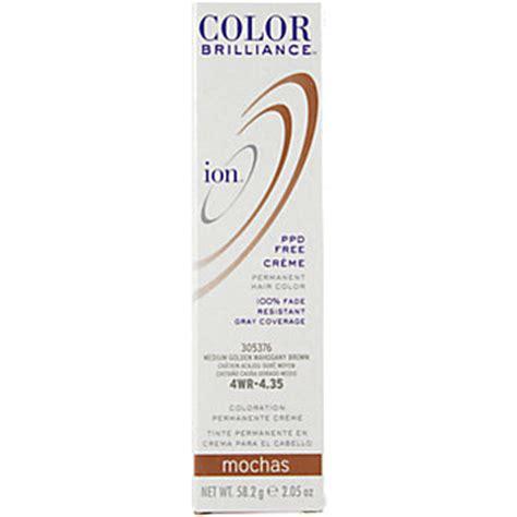 ion light golden brown ion color brilliance mochas