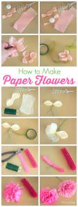 Learn To Make Paper Flowers - how to make tissue paper flowers atta says