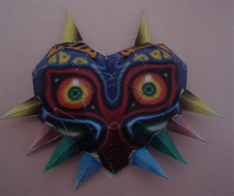 A Paper Mache Mask - kanti krafts majora s mask tutorial