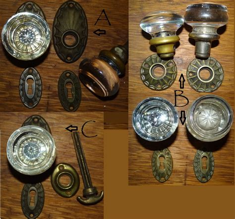 Glass Door Knob Sets by Robinson S Antique Hardware Glass Door Knob Sets