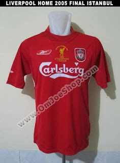 Jersey Grade Aaa Liverpool Home 9395 supplier jersey retro jersey liverpool home 2005 istanbul
