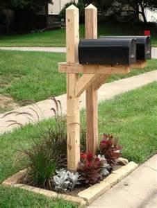 mailbox landscaping mailbox landscape