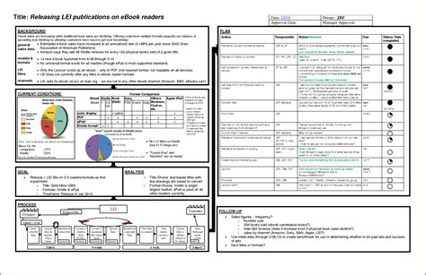 8 A3 Report Template Expense Report A3 Template Excel