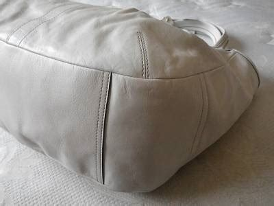 Coach Tattersall Travel Tote by Nwt Coach Pleated Ergo White Xl Leather Tattersall Travel
