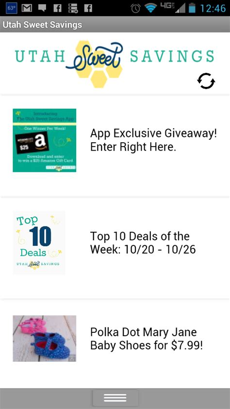 Amazon Android App Giveaway - announcing the new utah sweet savings app giveaway utah sweet savings