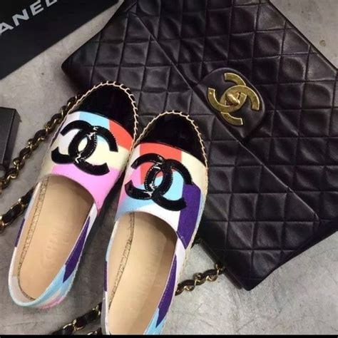 Brand New Chanel Espa Shoes chanel espadrilles brand new with dust bag these are the resort cruise 2016 completely sold