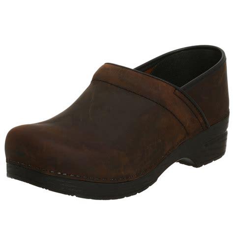 clog for dansko mens professional leather clog in black for