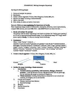 sle of expository essay staar writing expository essay strategies by daniel garcia