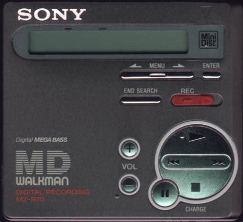format audio minidisc sony mz r70 image 283430 audiofanzine