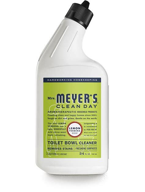 septic safe bathroom cleaners lemon verbena toilet bowl cleaner mrs meyer s