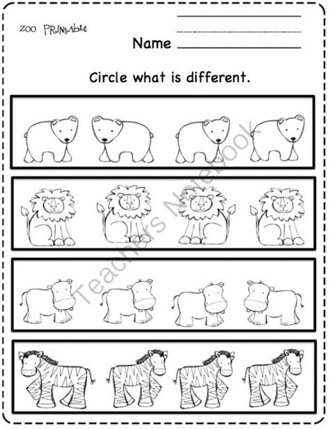 printable zoo animal worksheets 17 best images about zoo animals preschool on pinterest
