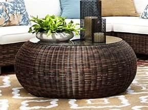 Wicker Ottoman Coffee Table Awesome Wicker Coffee Table Design Idea Wicker Coffee